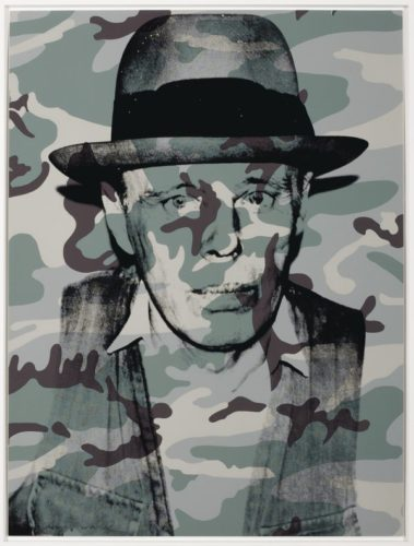 Joseph Beuys In Memoriam (f&s Ii.371) by Andy Warhol at Andy Warhol