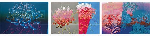 Kiku Completeportfolio (fs Ii.307-309) by Andy Warhol