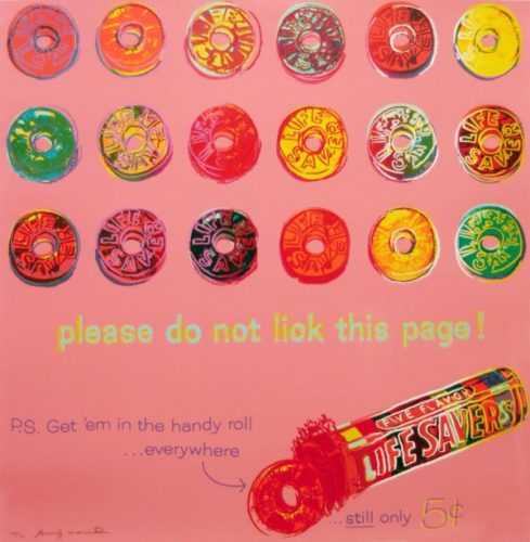 Life Savers (fs Ii.353) by Andy Warhol