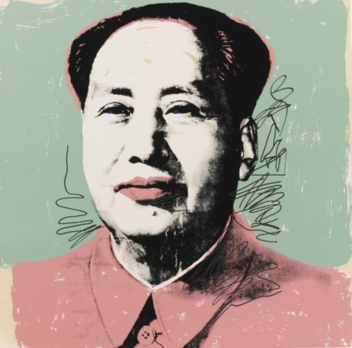 Mao #95 by Andy Warhol