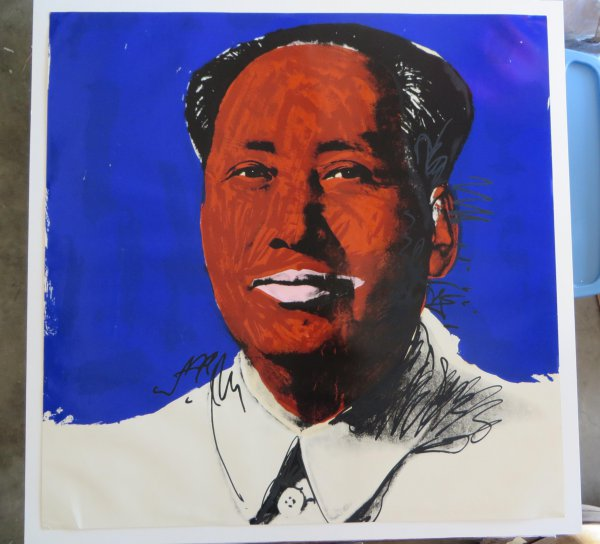 Mao Fs# 98 by Andy Warhol