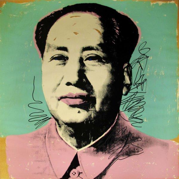 Mao II .95 by Andy Warhol