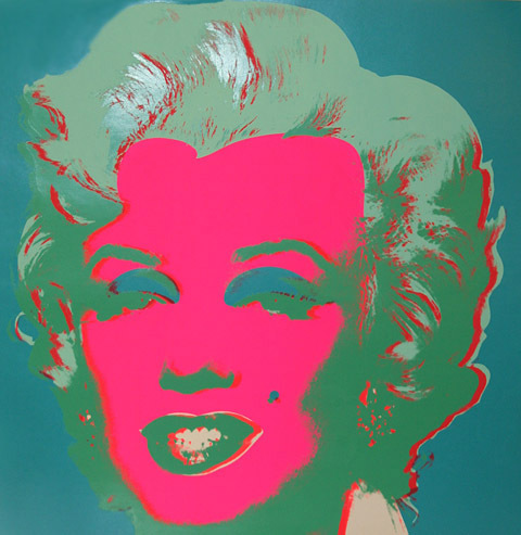 Marilyn Fs Ii.30 by Andy Warhol at Andy Warhol