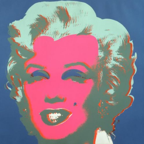 Marilyn (f &sii 30) by Andy Warhol