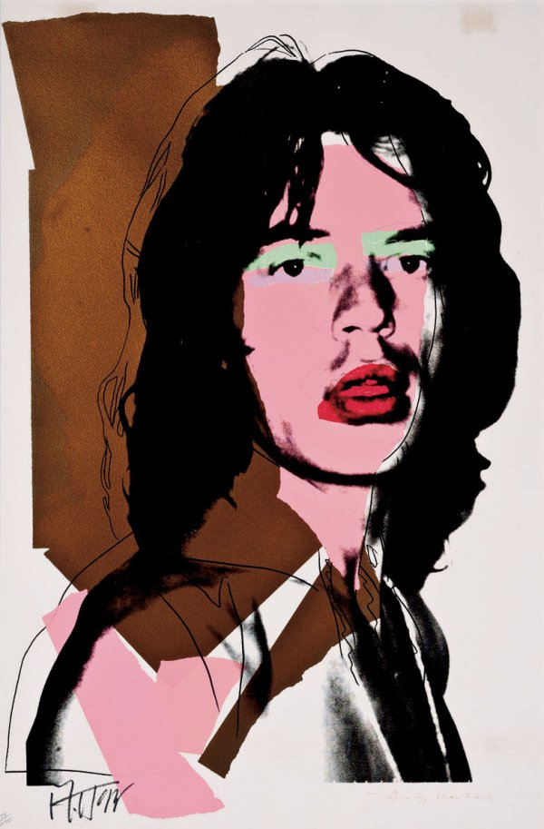 Mick Jagger Fs Ii.143 by Andy Warhol