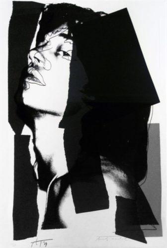 Mick Jagger [ii.144] by Andy Warhol
