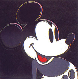Mickey Mouse Fs 265 by Andy Warhol