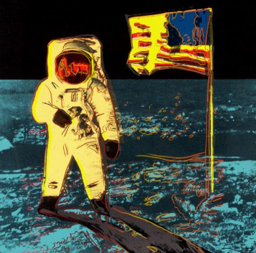 Moonwalk Ii.404 by Andy Warhol