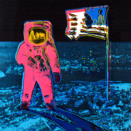 Moonwalk Ii.405 by Andy Warhol