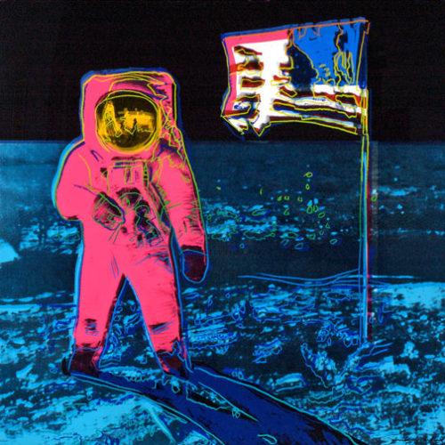 Moonwalk Ii.405 by Andy Warhol
