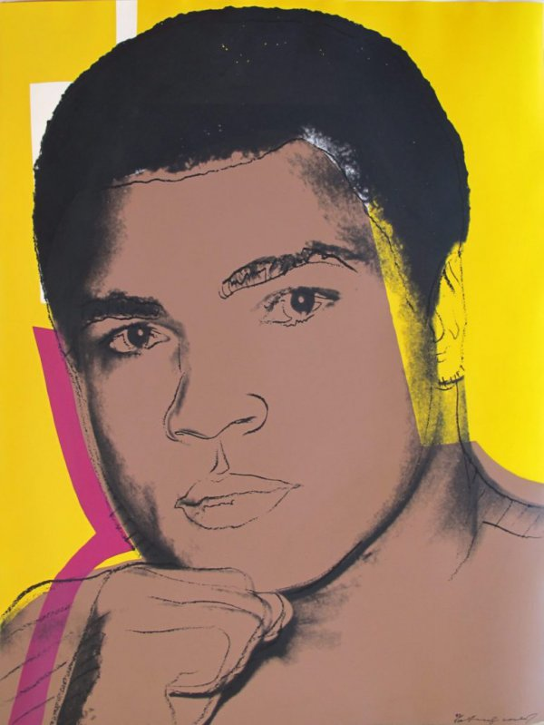 Muhammad Ali [ii.82] by Andy Warhol
