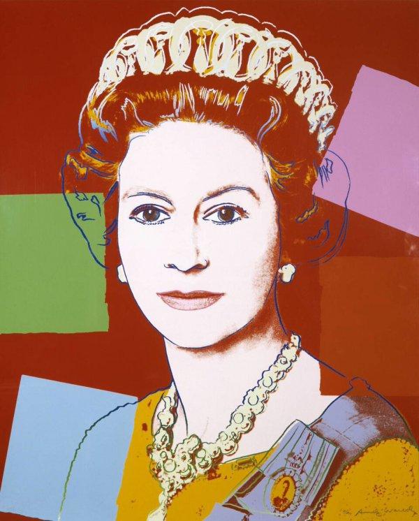 Queen Elizabeth Ii 334 By Andy Warhol by Andy Warhol