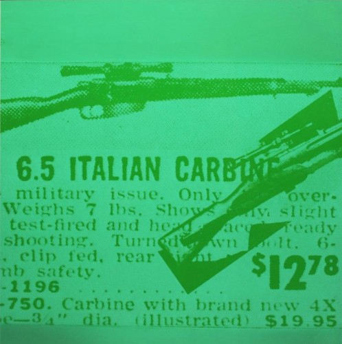 Rifle by Andy Warhol