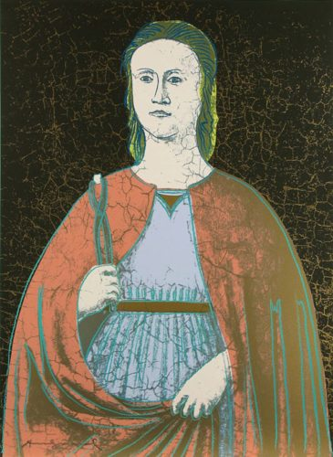 Saint Apollonia (fs Ii.331) by Andy Warhol at Andy Warhol