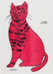 Sam by Andy Warhol at Susan Sheehan Gallery