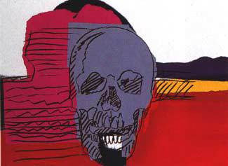 Skull by Andy Warhol at Hamilton-Selway Fine Art