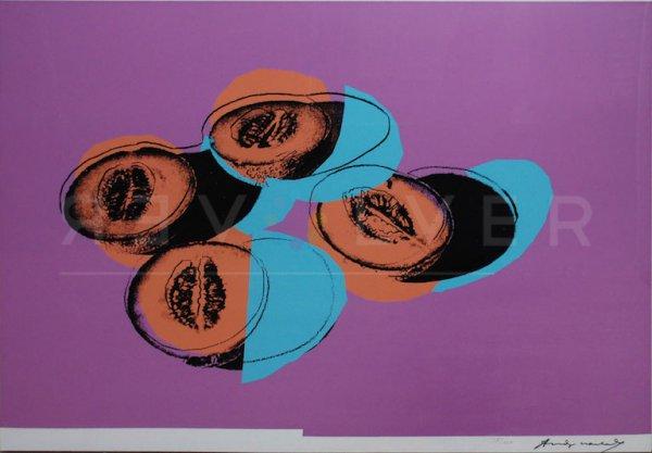 Space Fruit: Cantaloupes Ii (fs Ii.198) by Andy Warhol
