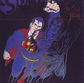 Superman Fs# 260 by Andy Warhol at