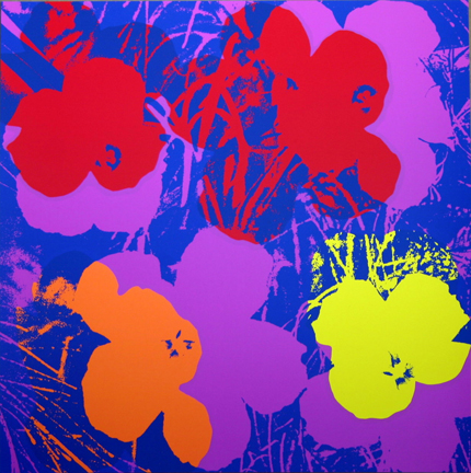 Flowers 11-66 Sunday B. Morning by Andy Warhol (after)