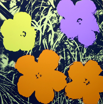 Flowers 11-67 Sunday B. Morning by Andy Warhol (after) at