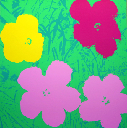 Flowers 11-68 Sunday B. Morning by Andy Warhol (after) at