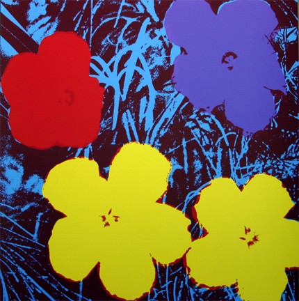 Flowers 11-71 Sunday B. Morning by Andy Warhol (after) at