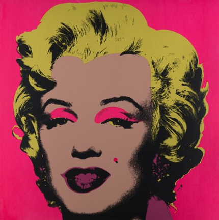 Marilyn Monroe 11-31 Sunday B. Morning by Andy Warhol (after)