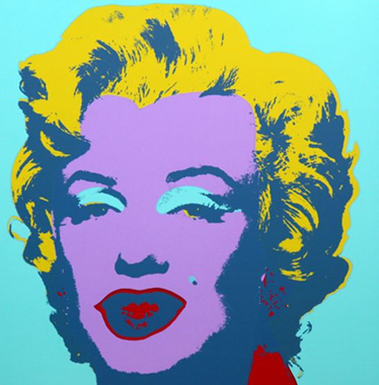 Marilyn No 23, Sunday B Morning by Andy Warhol (after)