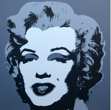 Marilyn No 24, Sunday B Morning by Andy Warhol (after)