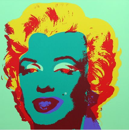 Marilyn No 25, Sunday B Morning by Andy Warhol (after)