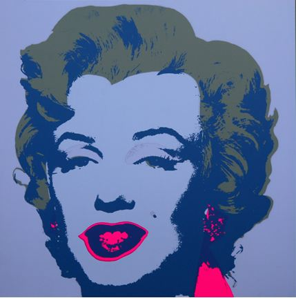 Marilyn No 26, Sunday B Morning by Andy Warhol (after)