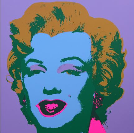 Marilyn No 28, Sunday B Morning by Andy Warhol (after)