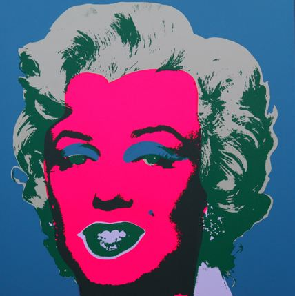 Marilyn No 30, Sunday B Morning by Andy Warhol (after)