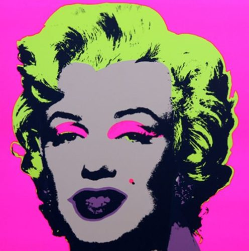 Marilyn No 31, Sunday B Morning by Andy Warhol (after)
