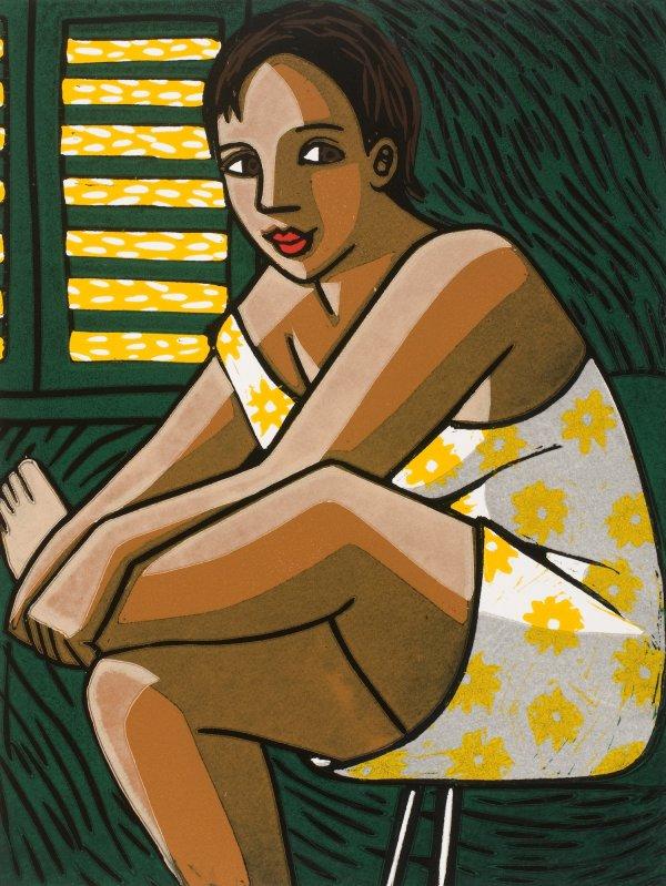Inside In The Summer by Anita Klein