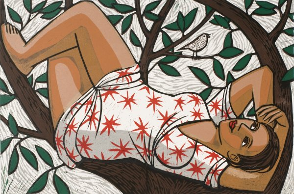 Resting In A Tree by Anita Klein at