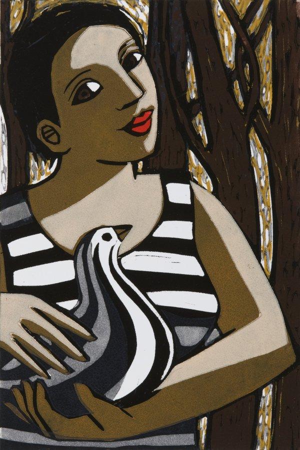 The Striped Bird by Anita Klein
