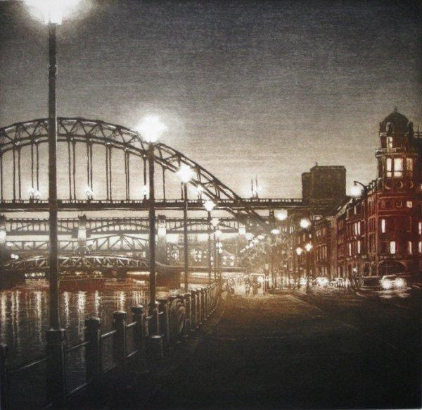 Bridge Ii by Anja Percival