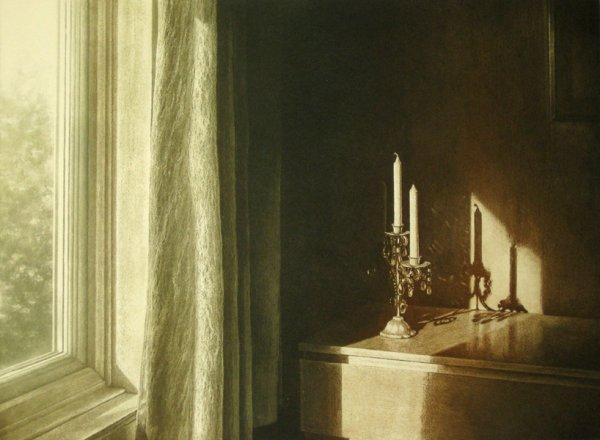 Dusk Light Iii by Anja Percival