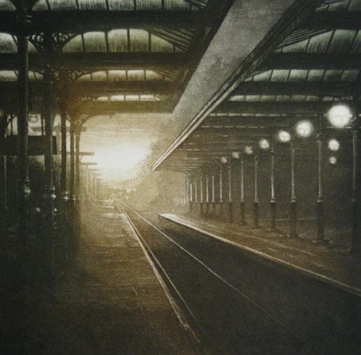 Dusk Light V by Anja Percival