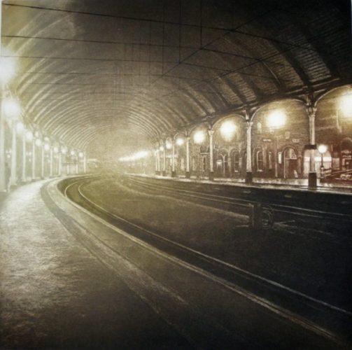Station Light Xiv by Anja Percival