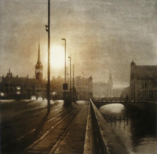Urban Light V by Anja Percival