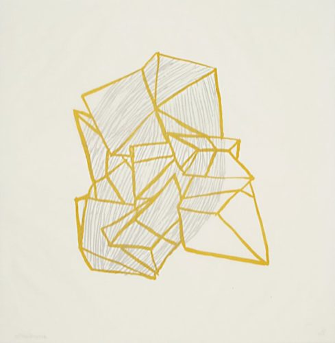 Conglomerate (ochre) by Anna Hepler