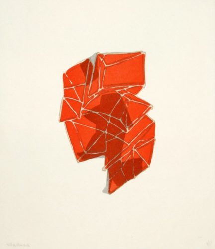Conglomerate (orange) by Anna Hepler