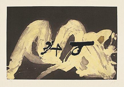 3 i 4 by Antoni Tapies