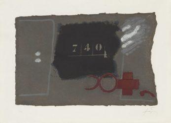 740 by Antoni Tapies at Grabados y Litografias.com