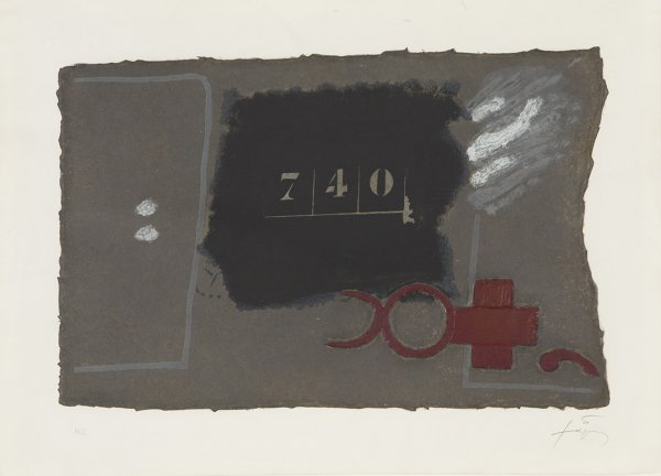 740 by Antoni Tapies at Grabados y Litografias.com