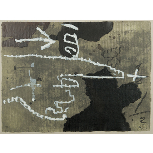 El Dit by Antoni Tapies