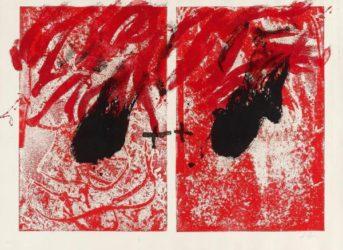 Feu Ii by Antoni Tapies at Grabados y Litografias.com