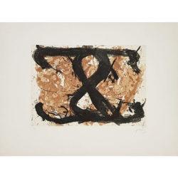 Le Huit by Antoni Tapies at Grabados y Litografias.com